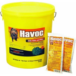 Neogen Rodenticide Havoc Mouse and Rat Killer